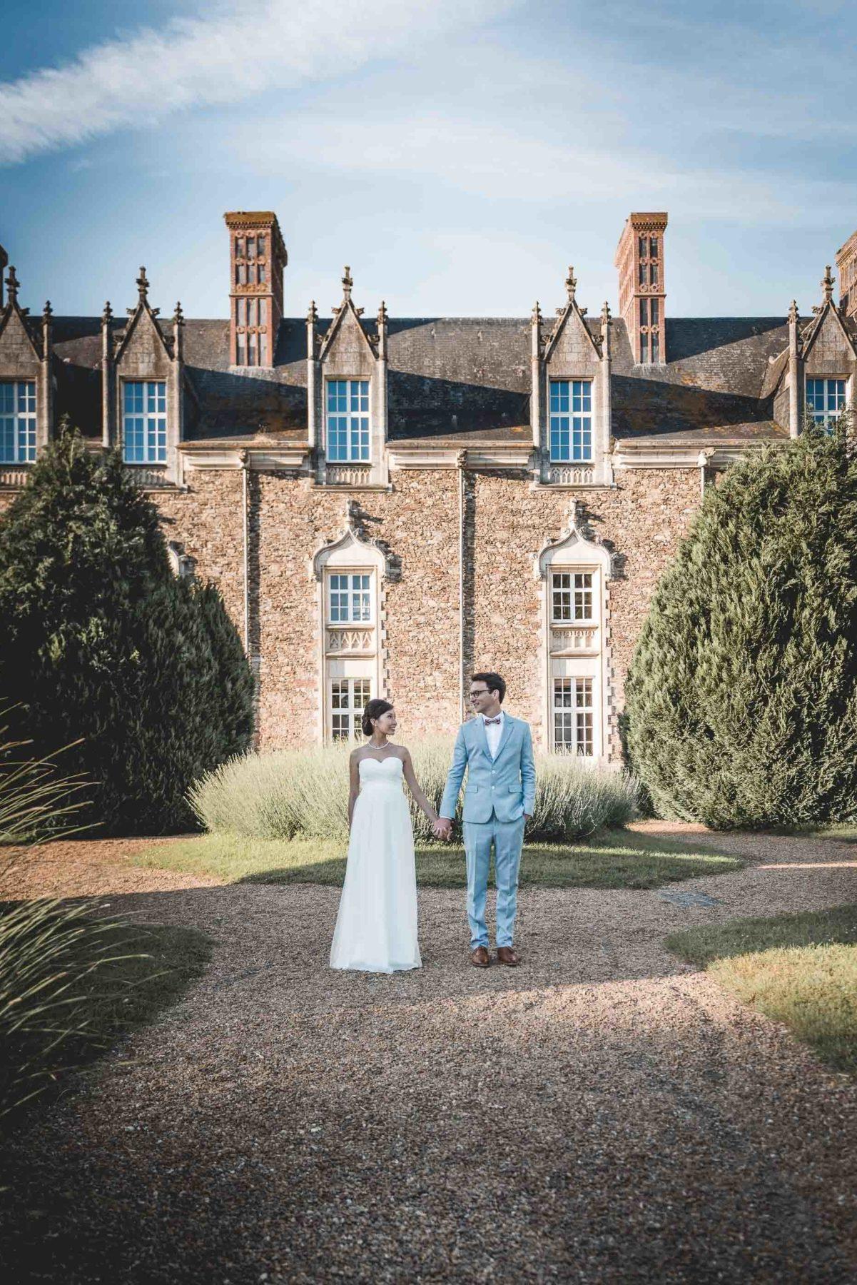 Portrait couple mariage Jane et Thomas par Maxime Castric