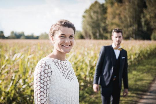 Portrait couple, reportage mariage par Maxime Castric